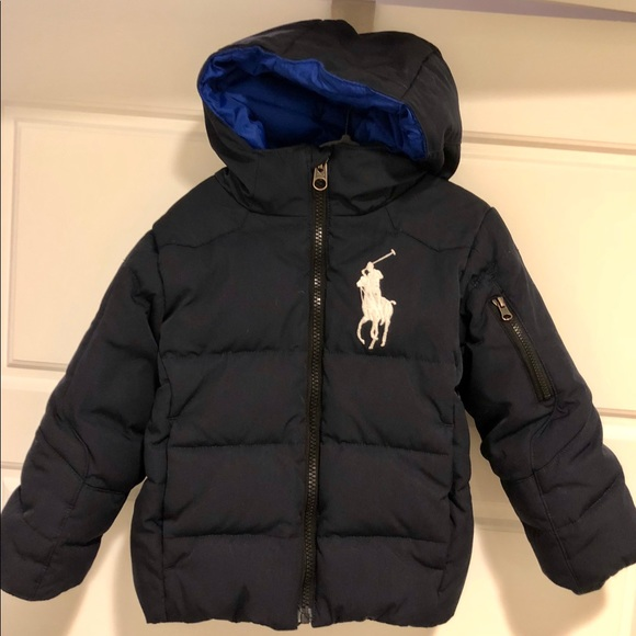 Polo by Ralph Lauren Other - Ralph Lauren Polo Boy's Hooded Down Puffer Coat 3T